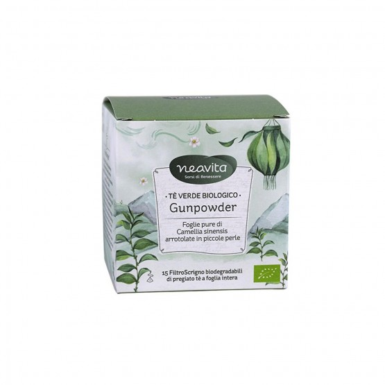Neavita - Tè Verde Biologico Gunpowder