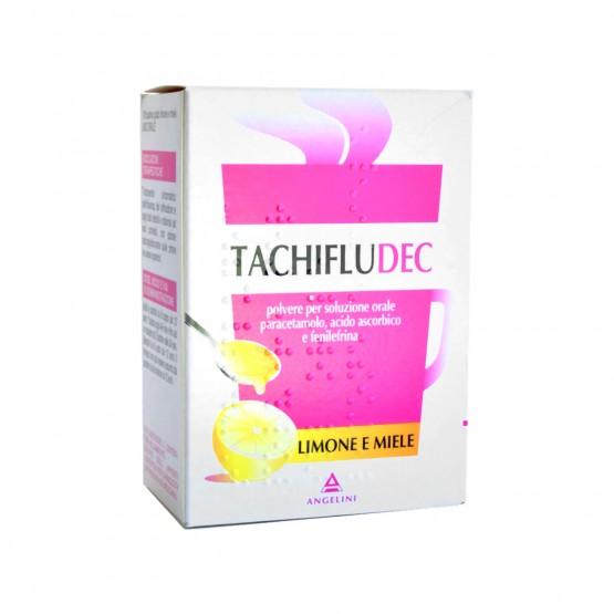 Tachifludec Polvere Gusto Limone E Miele 10 Bustine